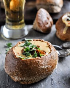 beer cheese soup!