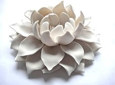DSHOP - Porcelain Lotus Flower for table wall or ceiling