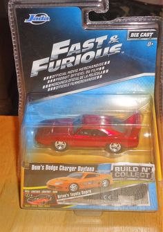 FAST AND FURIOUS Build N Collect DOM'S DODGE CHARGER DAYTONA 1:64 Diecast JADA #JadaToys #Dodge