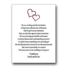 Details About Wedding Money Gift Voucher Poem Cards For Invites A7 Or A6 Beach Heart In Sand