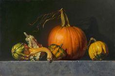 "Autumn Icons by Beth de  Loiselle Oil ~ 16"" x 24"""