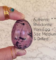 Drilled 3-pcs Value Set Of Rose Quartz Yoni Eggs Large/medium/small 3 Sizes Smoothing Circulation And Stopping Pains