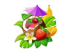 Summer Icon Set on Behance