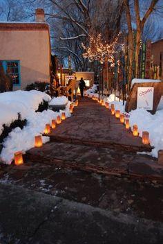 Canyon Road  Winter in Santa Fe, NM  Vacation Rental in Santa Fe, NM   https://www.airbnb.com/rooms/2562597