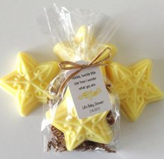 Star Soap, Baby Shower Favors with Custom Tags, Twinkle Twinkle Little Star Theme, Handmade Soap Favor, Nursery Rhyme Favor, 12 Favors