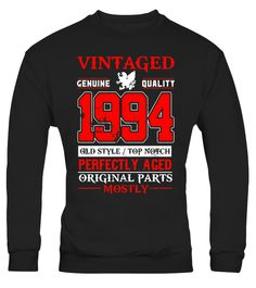 "# Vintage Born in 1994 23rd Birthday T-Shirt 23 Years Old .  Special Offer, not available in shops      Comes in a variety of styles and colours      Buy yours now before it is too late!      Secured payment via Visa / Mastercard / Amex / PayPal      How to place an order            Choose the model from the drop-down menu      Click on ""Buy it now""      Choose the size and the quantity      Add your delivery address and bank details      And that's it!      Tags: A great gift idea for a…"