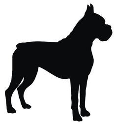 Boxer Dog Biscuits--Breed Specific Dog Cookies & Gifts--All Natural Organic Vegetarian Dog Boxer Breed, Boxer Rescue, Silhouette Sign, Animal Silhouette, Boxer Dog Tattoo, Der Boxer, Boxer Love, Bulldog Puppies, Bulldog Mascot