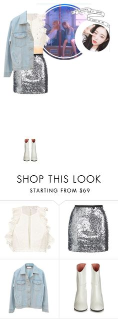 """""""Yuri _ Finding Twenty Task 1."""" by purrfectas ❤ liked on Polyvore featuring Zimmermann, Topshop and Acne Studios"""