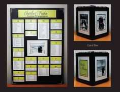 Seating Chart and Card Box