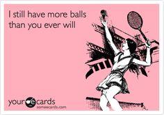 Tennis joke for Tennis players