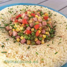 Corona de arroz de verano » Divina CocinaRecetas fáciles, cocina andaluza y del mundo. » Divina Cocina