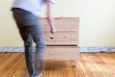 IKEA Hack Tarva commode - DIY Auguste et Claire