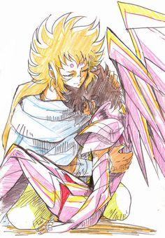 Kiki y Seiya de Sagitario.