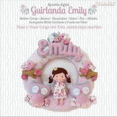 Apostila DIGITAL Guirlanda Emily - Artes em Feltros