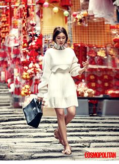 Lee Ho-jung for Cosmopolitan Korea - Dior Spring 2016