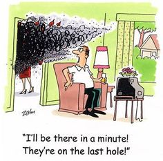 Golf Humor ...Priorities.