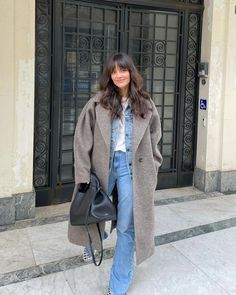 Warm Outfits, Simple Outfits, Spring Outfits, Denim Fashion, Fashion Outfits, Women's Fashion, Jogging, Mode Dope, London Outfit