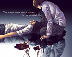 death note - you touch Lawliet and I'll surely will kill you, Yagami Light (KIRA)