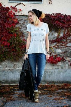 """My perfect Zoe Karssen t-shirt. ❤️ """"Crème de la crème"""""""