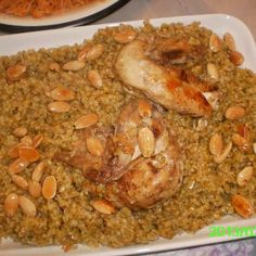 freekeh w chicken