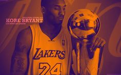 Kobe and the Larry O'Brien Trophy