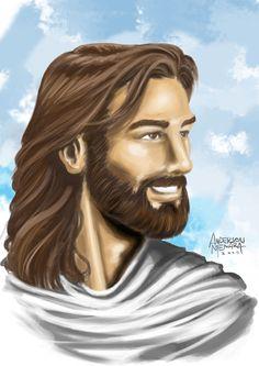 desenhos de jesus cristo sorrindo - Pesquisa Google