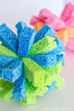 How to Make a Sponge Ball for Awesome Summer Water Games - Fun Loving Families Outside Activities For Kids, Holiday Activities For Kids, Water Games For Kids, Outdoor Activities, Fun Activities, Children Activities, Summer Fun List, Summer Diy, Summer Crafts