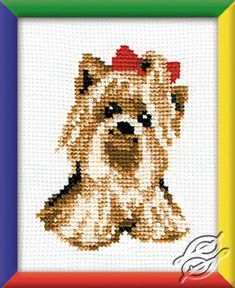 Yorkshire Terrier - Cross Stitch Kits by RIOLIS - 496
