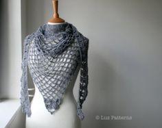 Ganchillo patrón tarde de verano abrigo ganchillo por LuzPatterns