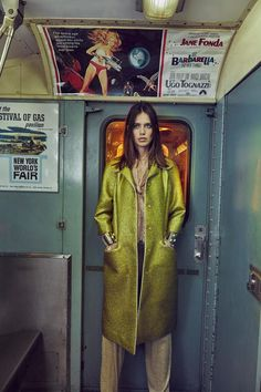 Photographer An Le captured the gorgeous Amanda Welsh in this editorial entitled 'Underground' for Vogue Portugal. In this special, closed to the public NYC train station, An Le, fashion editor Paulo Macedo and team takes us on a train ride to play chic and sexy contrasted by the urban background of the New York MTA.: