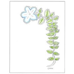 color your own stationery! This printable design has room for your message in the open area -- you can color the flower any way you like . . . see more examples at https://www.etsy.com/listing/464557814/tall-flower-coloring-page-stationery