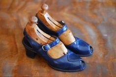 scarpe vintage anni ' 40