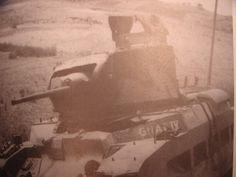 A british Matilda II tank in Crete 1941 - pin by Paolo Marzioli