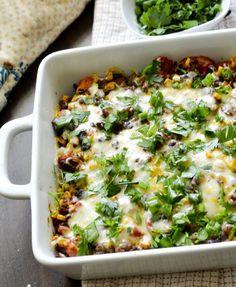 Weight Watcher Recipes | Mexican Casserole - Recipe Diaries