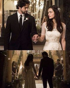 The Originals – TV Série - Hayley Marshall (Phoebe Tonkin) - Jackson Kenner (Nathan Parsons) - Wedding (casamento) - Jackson and Hayley