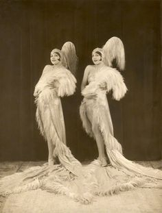 The Dodge Sisters, 1927  by Bassano