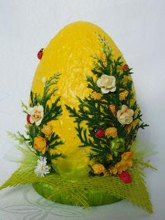allegro Egg Crafts, Easter Crafts, Diy And Crafts, Flower Ball, Dessert Decoration, Easter Crochet, Egg Art, Spring Has Sprung, Egg Decorating