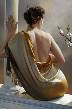 30 Mind-Blowing Glamorous Oil Paintings by Tom Lovell, Hamish Blakely and Raipun | Read full article: http://webneel.com/30-mind-blowing-oil-paintings-tom-lovell-hamish-blakely-and-raipun | more http://webneel.com/paintings | Follow us www.pinterest.com/webneel #OilPaintingLove #OilPaintingInspiration