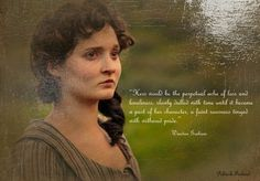 """""""Hers would be the perpetual ache of loss and loneliness, slowly dulled with time until it became a part of her character, a faint sourness tinged with withered pride.""""--from Ross Poldark: A Novel of Cornwall, 1783-1787 by Winston Graham"""