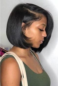 Fall Hairstyles Stylish Haircuts For Black Ladies Shoulder Length Black Hairstyles 20190712 Curly Hair Styles Hair Styles Short Black Hairstyles