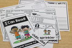 KinderReaders a kindergarten guided reading program.  Download free lesson! Kindergarten Freebies, Kindergarten Reading, Teaching Reading, Guided Reading, First Grade Classroom, Program Design, Phonics, Summer Fun, Literacy