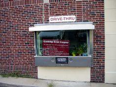 BANK DRIVE-THRU'S!