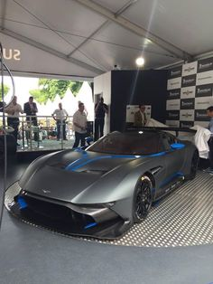 The Goodwood Festival of Speed kicked off yesterday, June to a score of displays and unveilings from the world's top automotive manufacturers. Aston Martin Vulcan, Aston Martin Lagonda, Aston Martin Cars, Bugatti, Maserati, Ferrari, Goodwood Fos, Automotive Manufacturers, Luxury Cars