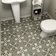 Overstock: SomerTile 7.75x7.75-inch Thirties Classic Ceramic Floor and Wall Tile (Case of 25)
