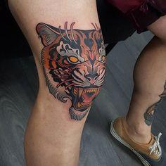 tiger #revolutionneedles #killerink #hustlebutterdeluxe