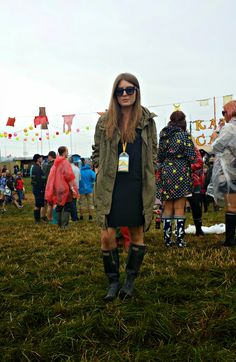 Style Trunk: Parka and wellies at Glastonbury