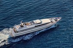 """Cape 4  Charters """"m/y Obsesion""""  #yacht #charter #Greece"""