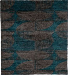 Grunge B Hand Knotted Tibetan Rug from the Tibetan Rugs 1 collection at http://www.modernrugs.com/