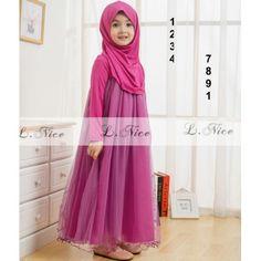 Baju Muslim Untuk Anak Cantik Loh Cek Di Web Yuk Hijab