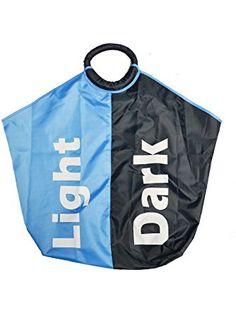 Light & Dark Divided Laundry Bag ❤ MergHome
